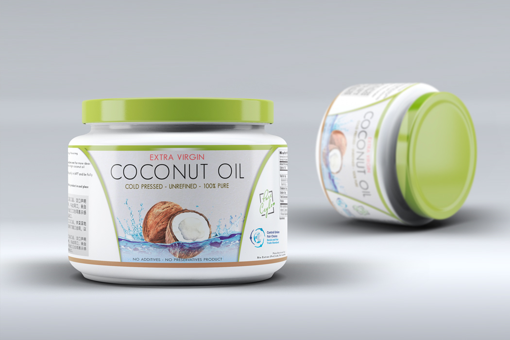 Pure Ceylon Coconut Oil